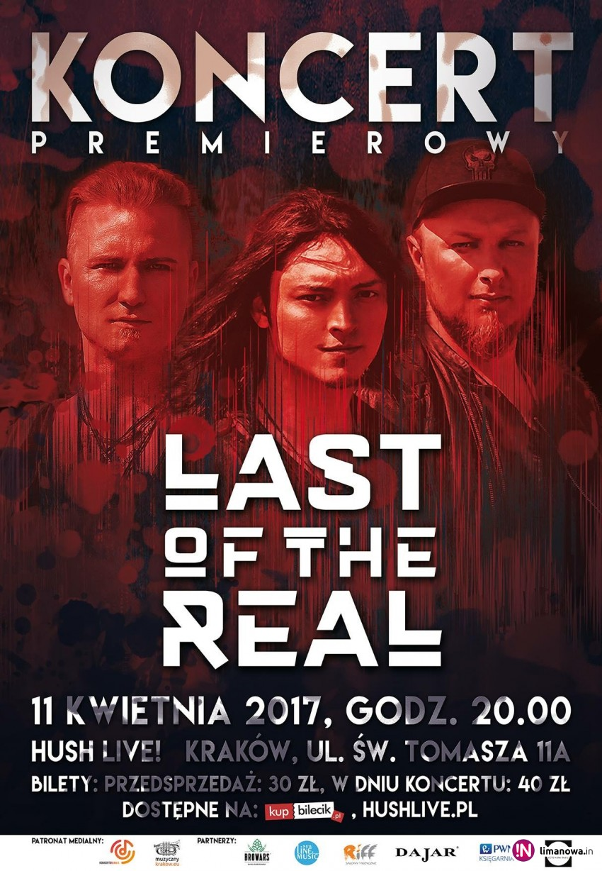 Już jutro koncert Last Of The Real